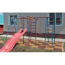 Резиновая плитка для детских площадок толщина 30 мм 50х50 см