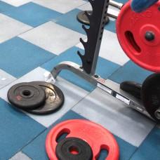 Плитка из резиновой крошки для кроссфит залов и воркаутов толщиной 30 мм размер 50х50 см