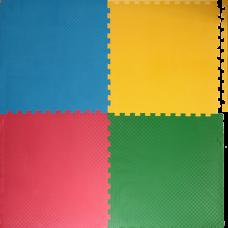 Мягкий пол универсальный 60*60 см 9 мм модульный с кромками 1,44 м2