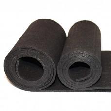 Рулонные резиновые покрытия Sport Terra 1000 4 мм черный