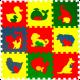 Мягкие напольные покрытия для детской комнаты