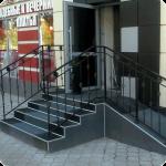 Резиновые покрытия лестниц и крылец
