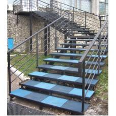 Резиновая плитка для лестниц 40 мм
