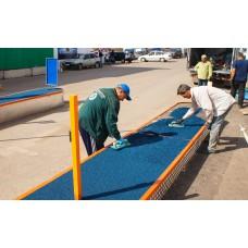 Бесшовные резиновые покрытия для крылечек, уличных лестниц и пандусов