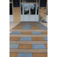 Резиновая плитка для лестниц 10 мм
