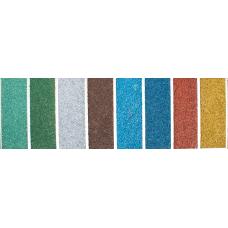 """Комплект материалов для самостоятельного изготовления бесшовного покрытия из цветной крошки """"Экоплитка"""" (тёмно-зелёный)"""