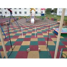 Сделали детскую и спортивную площадку в г.Янауле