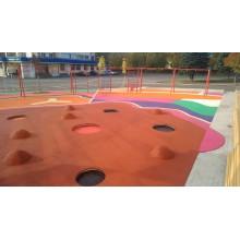 В конце сентября 2020 сделали красивую детскую площадку в Уфе на ул.Мира 14. Дом-книжка